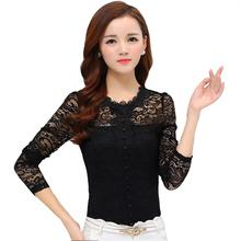 Blusas Y Camisas Mujer Lace Blouse Shirt Women Blouses Vetement Femme Chemise Chemisier Ladies Tops Woman Clothes Plus Size XXL
