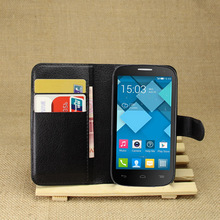 Buy Vintage Wallet Leather Phone Case Alcatel One Touch Pop C5 OT 5036 5036D Flip Cover Luxury Case Coque Stand Card Slots for $3.22 in AliExpress store