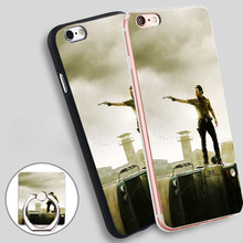 Buy Dead General Phone Ring Holder Soft TPU Silicone Case Cover iPhone 4 4S 5C 5 SE 5S 6 6S 7 Plus for $2.24 in AliExpress store