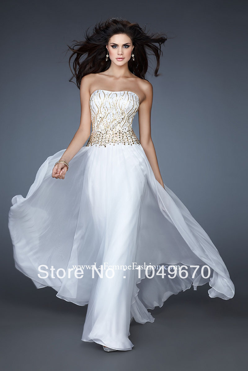 Sale online tutu dress sequined prom dresses chiffon with for Wedding dresses sale online