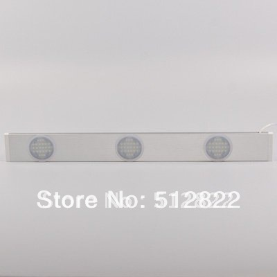 Led Cabinet Down Light 12VDC 4.8W 450LM 3window Linear Type Furniture Decorative Lighting Display And Show Case(China (Mainland))