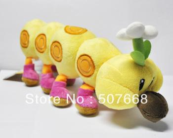 "Super Mario Bros 15"" WIGGLER Plush Toy Doll New Wholesale"