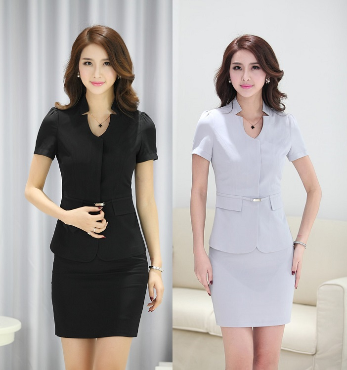 Work uniforms women promotion shop for promotional work for Office uniform design 2015