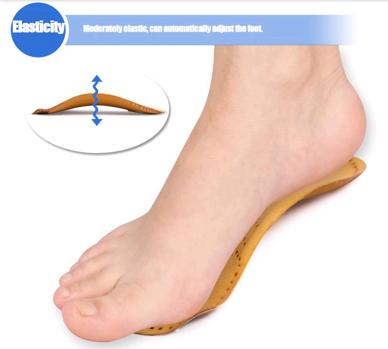 Hot-Braces  supports Foot care leather insole arch pad flatfoot X/O-type legs inside/outside word correction pad ( male&amp;female )<br><br>Aliexpress