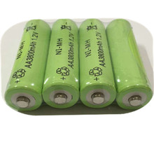 10pc a lot Free shipping  AA 3800mAh 1.2 V Quanlity Rechargeable Battery AA NI-MH 1.2V Rechargeable 2A Battery Baterias Bateria(China (Mainland))