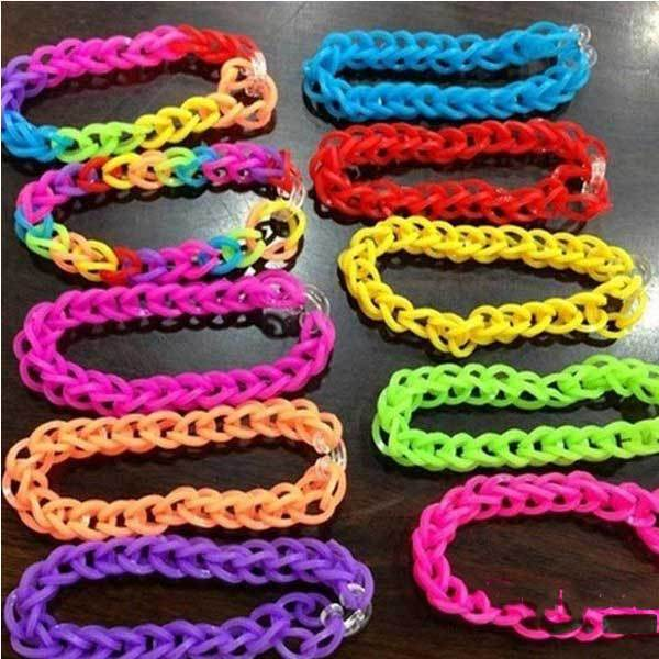 SuperMa DIY Rubber Bracelet Loom Band Tool Plastic C or S Clips(China (Mainland))