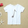 Free shipping New Lovely printting girls Tops Baby Kids Boys Cartoon fashion T shirts summer short