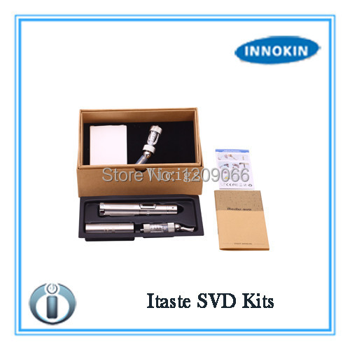 Innokin iTaste SVD Starter Kit Stainless Steel Tube Variable Voltage Wattage with Innokin Iclear 30 Atomizer<br><br>Aliexpress