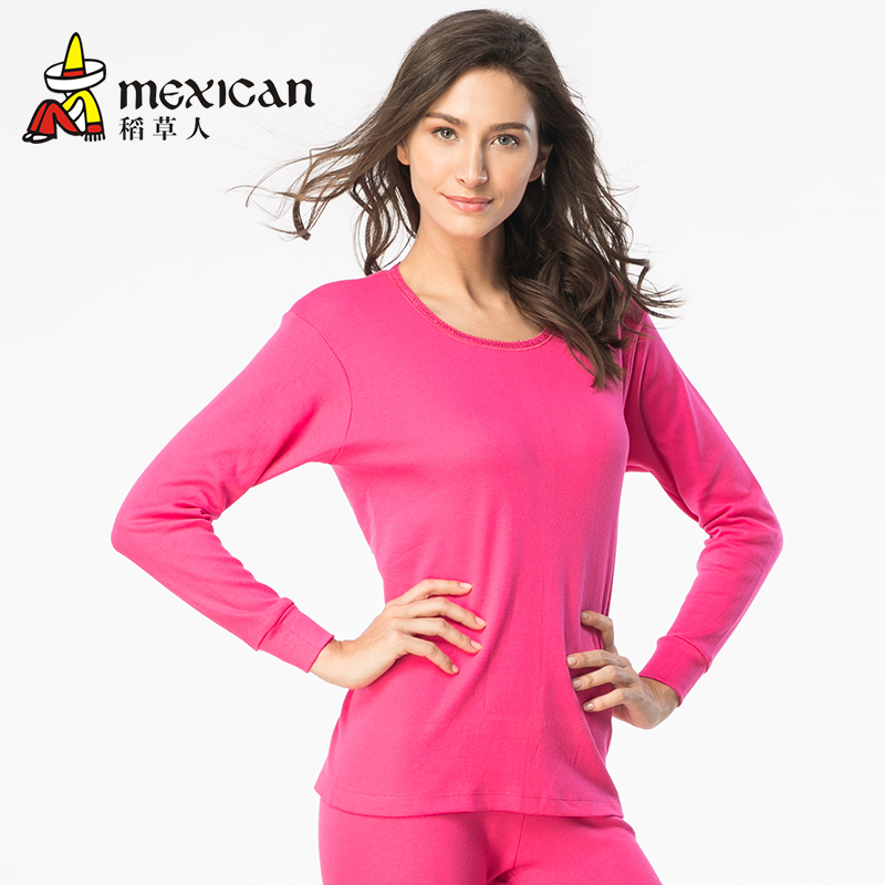 100 Cotton Female Thermal Underwear Thin Long Johns Long