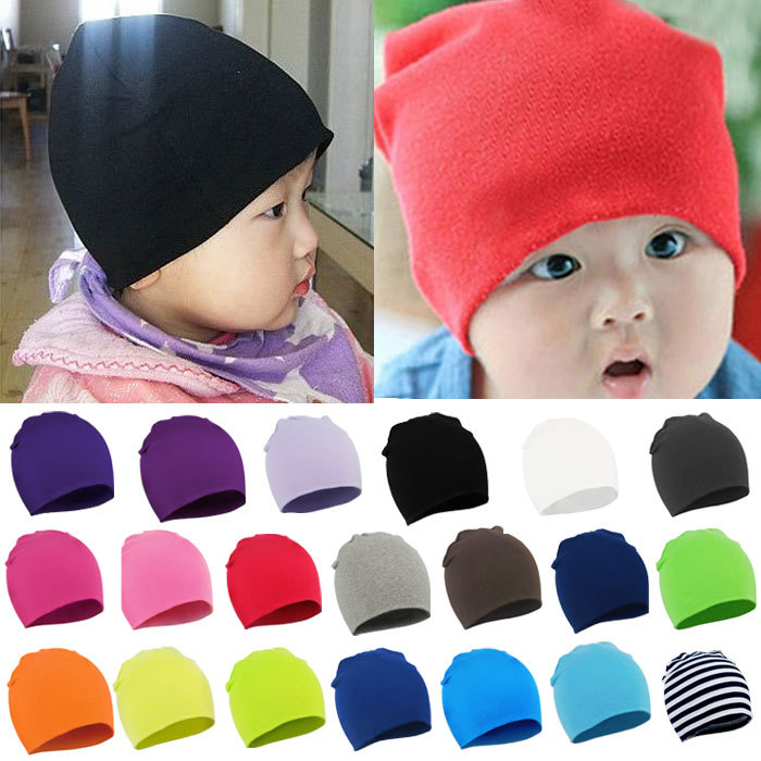 2016 Fashion Style New Unisex Newborn Baby Boy Girl Toddler Infant Cotton Soft Cute Hat Cap Beanie Cindy Colors - FashionShop321 store