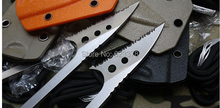 2014 New Arrival Limited Knives Fixed Blade Stainless Steel Fish Fork knife 187mm Length Blade Hunting