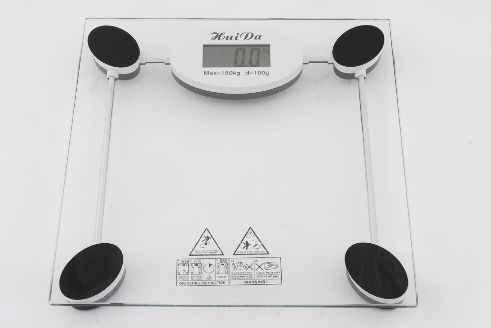 LCD Display Home ,LB/KG Unit 150kg/100g Electronic Body Scale - Super Star Electronics Co.,Ltd store