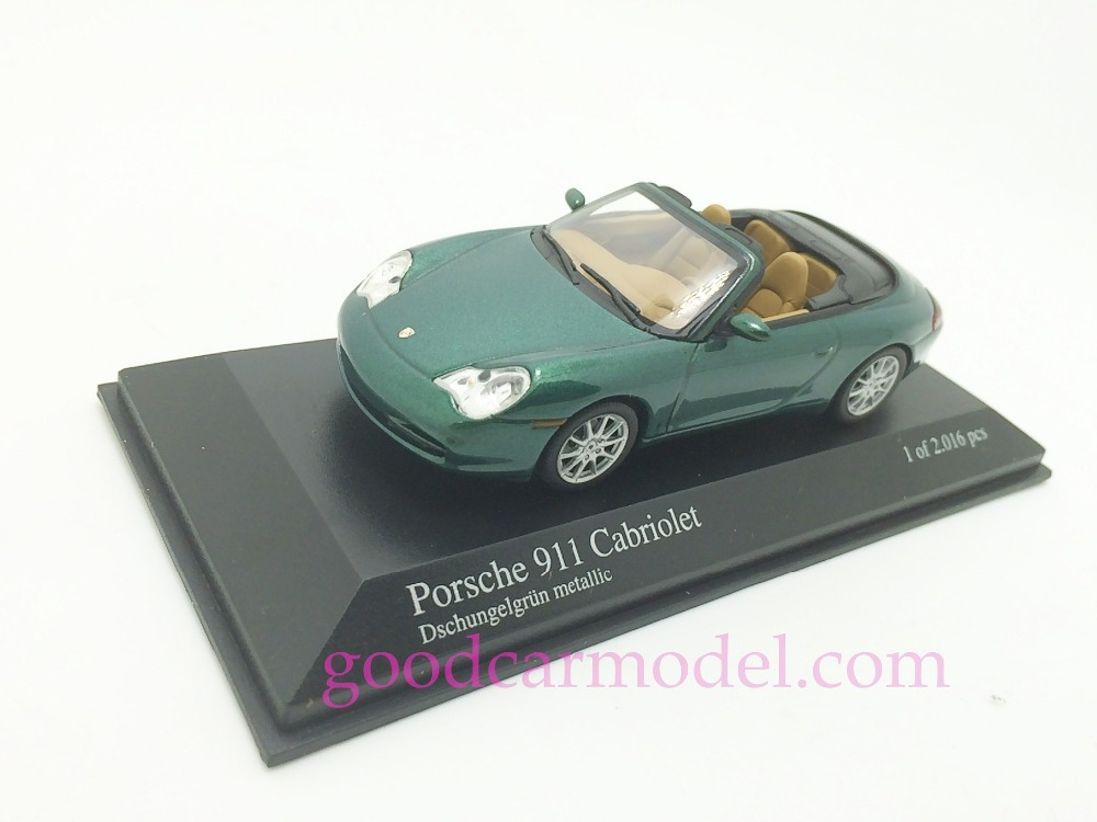 New Minichamps 1:43 Car Model 911 Cabriolet 2001 400061032Free Shipping From HK(China (Mainland))