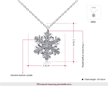 2015 New Summer style ROXI Jewelry Platinum rose gold Plated Statement Snowflake Necklace For Women Party