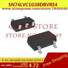 Smart Electronics Integrated Circuit SN74LVC1G38DBVRE4 IC SGL 2IN NAND GTE W/OD SOT23-5 LVC1G38 74LVC1G38 - Chips Store store