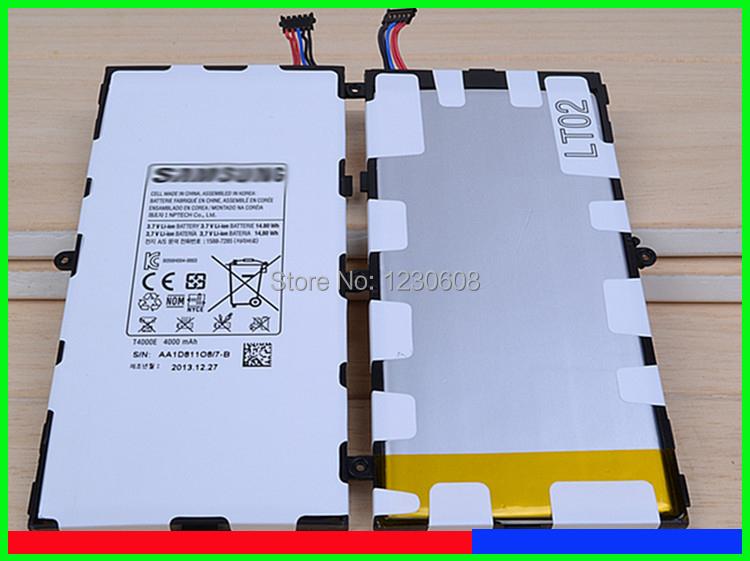 original 100 for samsung tab 3 7 0 t211 t210 t2105 battery T4000E 4000MAH free shipping