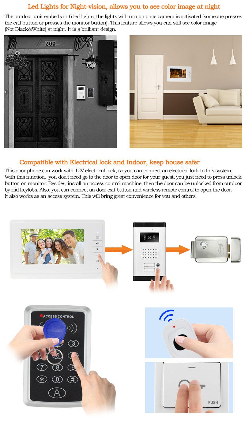 Id Karte Entsperren Xinsilu Intercom System Audio Tür Telefon Für 14 Wohnungen 4-wired Audio Türsprechanlage Mit Hand-free Indoor Einheiten
