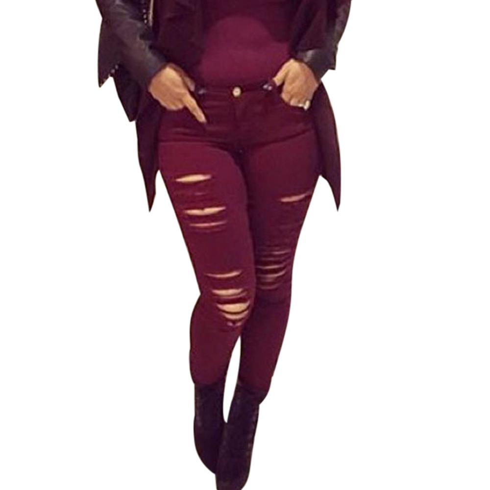 Compare Prices on Red Wine Jeans Woman- Online Shopping/Buy Low ...