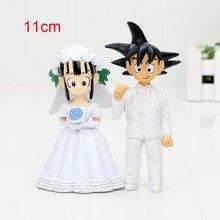 Anime brinquedos Super Saiyan Goku Gohan figura one piece Figuras de Ação De Dragon Ball Z Figura PVC Brinquedos(China)