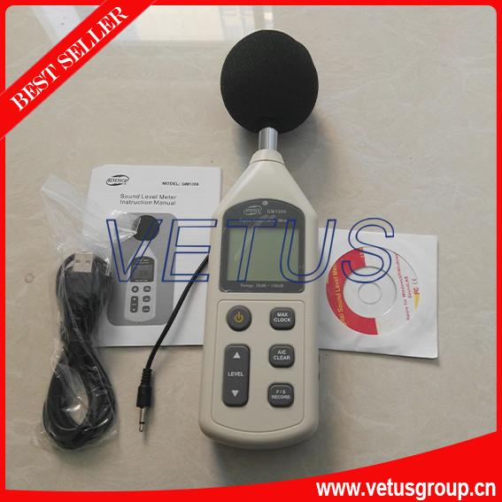 GM1356 Digital Noise meter with LCD display 30-130dB range<br><br>Aliexpress