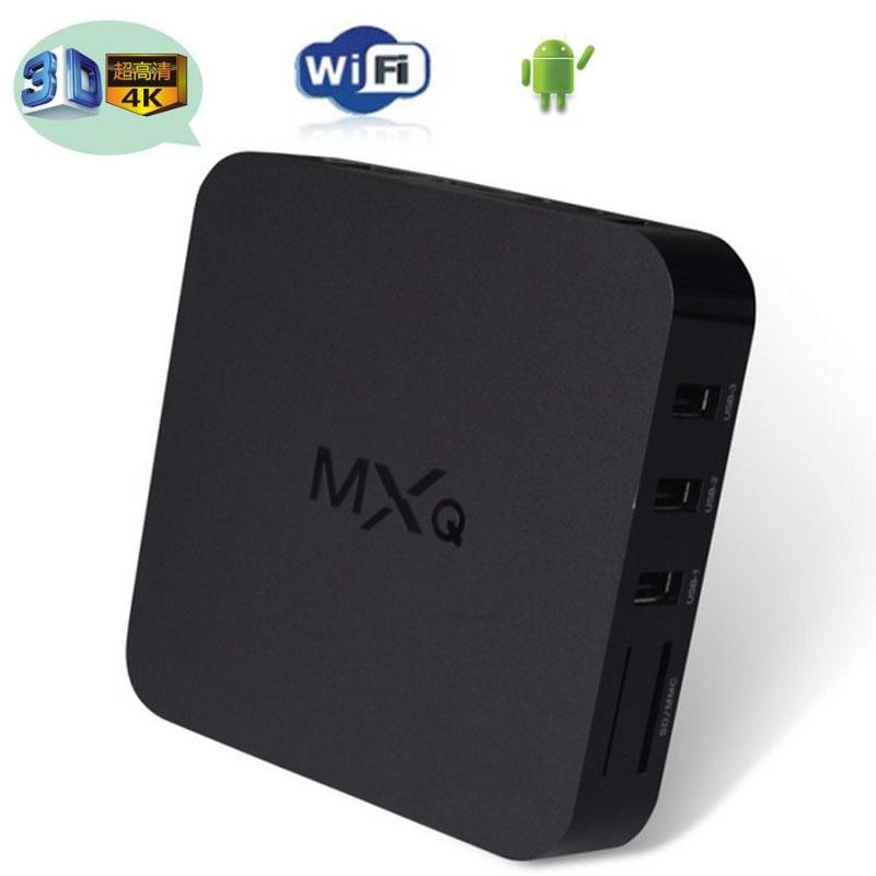 Гаджет  Vensmile MXQ tv box,android tv box,Kodi Pre installed Amlogic S805 Quad Core Android 4.4 better than cs918,Q7,M8,MX,Smart tv box None Бытовая электроника