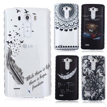 Buy Translucent soft Back Case Hoesjes LG G3 D855 D850 D851 D852 LS990 Cover LG G3 TPU Silicone Cover Coque LG G3 Case capas for $2.78 in AliExpress store