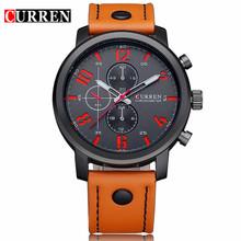 Buy Relogio Masculino CURREN Mens Watches Top Brand Luxury Leather Starp Male Clock Analog Quartz Watch Men Casual Sport Wristwatch for $12.09 in AliExpress store