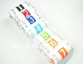 Free shipping One set/7pairs Man Socks 7 days Socks One Week Cotton Socks