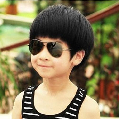 Best Selling Children Boy Baby Cute Wig Kids Straight Hair