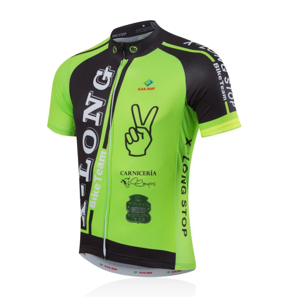 2016SAILSUN Hot Sale Team Cycling Short Bike Bicycle Clothing Clothes Women Men Cycling Jersey Jacket Top Bicycle Shirts X32(China (Mainland))