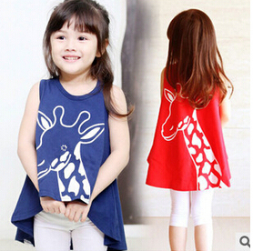 2015 Girls clothes Baby Girl Clothing top tee Children Flower Bow Cute Suit 1PCS Kids Top T Shirt casual sports clothes