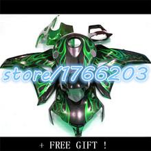 Buy flame green CBR1000RR 08 09 10 11 CBR1000 08-11 CBR black 1000RR 2008-2011 1000 RR 2008 2009 2011 fairing kit for $246.50 in AliExpress store