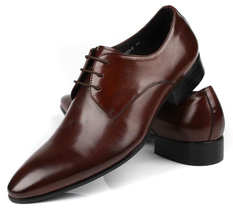 Здесь можно купить  HOT SALE! 2014 NEW Black/Brown tan fashion mens wedding shoes flats business shoes genuine leather mens office shoes formal   Обувь