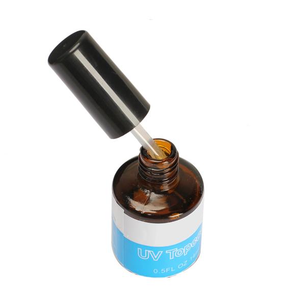 14ML UV Topcoat Top Coat Seal Glue Acrylic Nail Art Gel Polish Gloss Nails UV Glue Professional Nail UV Gel(China (Mainland))
