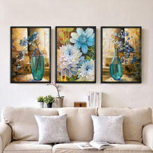 Buy Needlework,DIY DMC Cross stitch,Sets Embroidery kit 9ct 11ct printed cotton silk thread Safe flowers Counted Cross-Stitching for $37.46 in AliExpress store