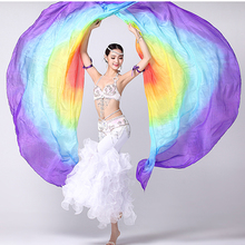 Performance Belly Dance Accessories Belly Dance Semi-circle Isis Wings 100% Silk Isis Wings
