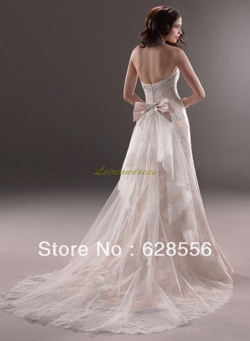Vestidos de boda ocasional blanco
