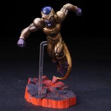 Dragon Ball Z Batalha Ver. Célula de ouro & Son Goku Estátua Figura Modelo Brinquedos(China)