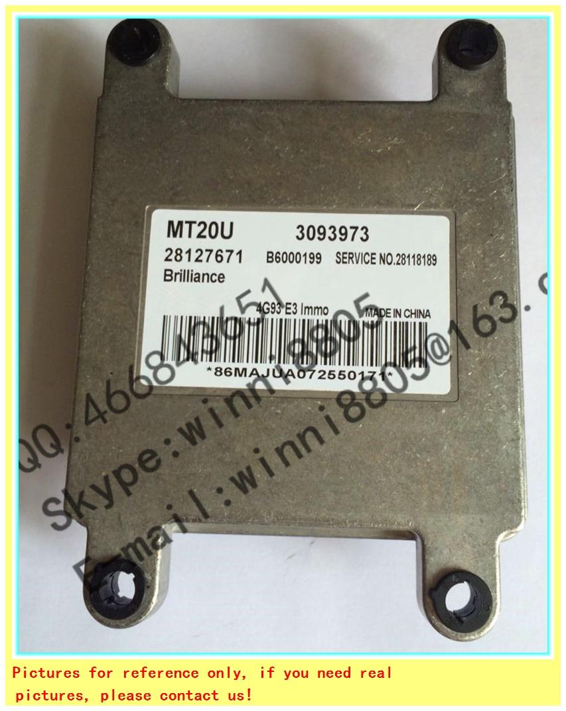 For China Zunchi M1/Junjie M2 car engine computer board /car pc /Engnine Control Unit / MT20U / MT20U2 28127671 3093973(China (Mainland))
