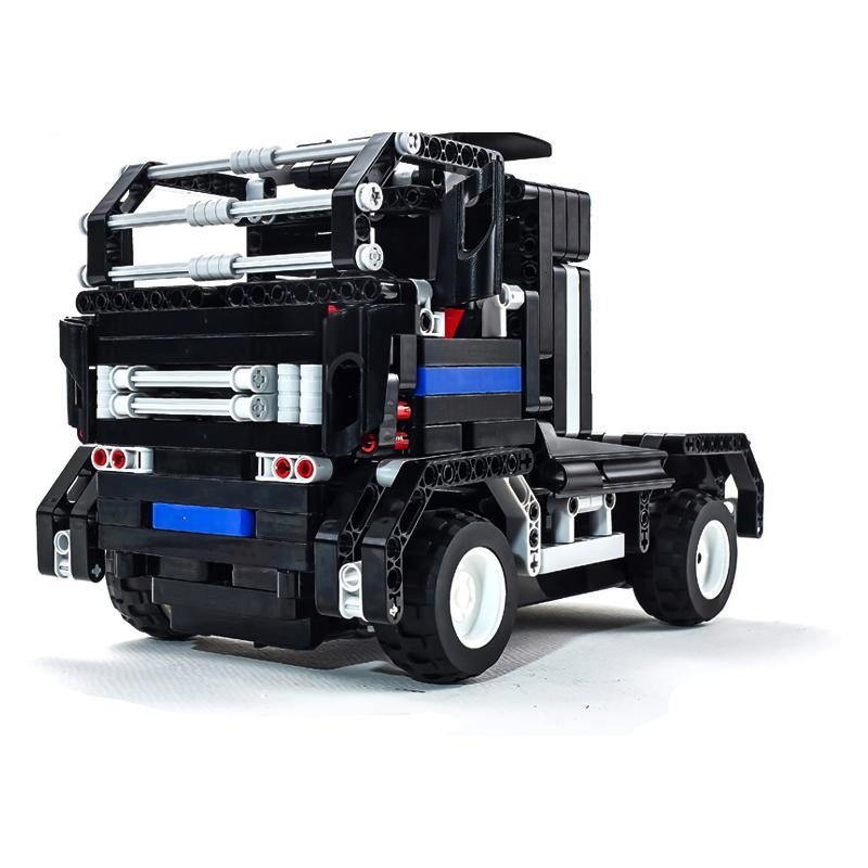 Kids Toys RC Truck Trailer Anime Robot Auto Bricks Union Building Blocks Sets toys For Children Gift RC Trucks(China (Mainland))