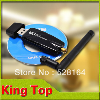300Mbps 300M Wireless USB WiFi Wi Fi Wi-Fi Adapter With External Antenna Wholesale Free Drop Shipping#LW06-B