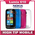 Unlocked Original Nokia Lumia 610 Windows Mobile Phone 8GB Storage Camera 5 0MP GPS Wifi 3G