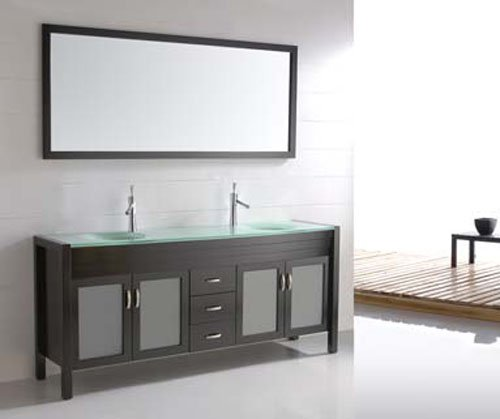 Buy Bathroom Furniture Wholesale New Style Wooden Bathroom Vanity Solid