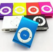 2016 New Mini Clip MP3 Player with Micro TF/SD Slot Portable colorful MP3 Music Player(China (Mainland))