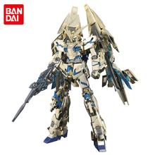 Anime Plating color gold RX-0 Unicorn Gundam 3 Phenex 1/100 model juguetes 18cm Robot Puzzle assembled action figures boy toys