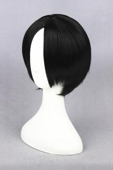 [Hoozuki no Reitetsu] 30cm Short Straight Black Synthetic Full Hair Cotume Wig