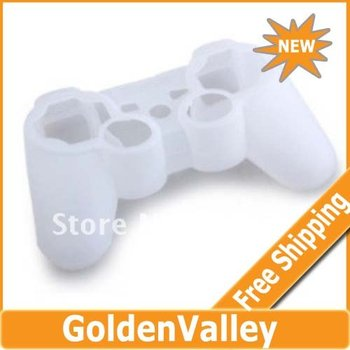 $10 off per $300 order Protective Silicone Case for PS3 Controller (White)