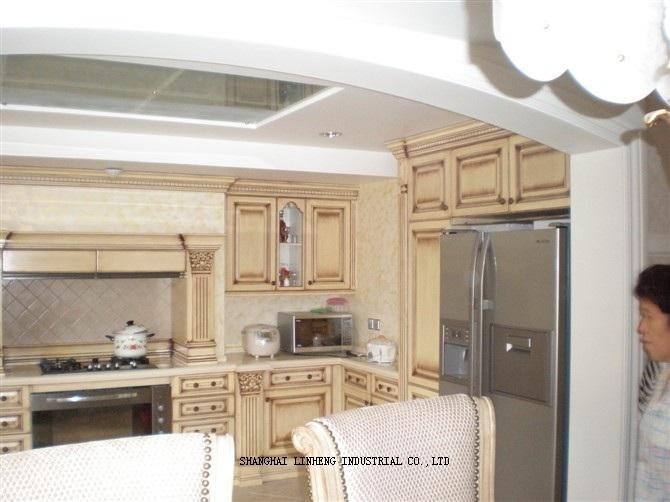 Comprar cl sico de madera s lida del for Comprar gabinetes de cocina