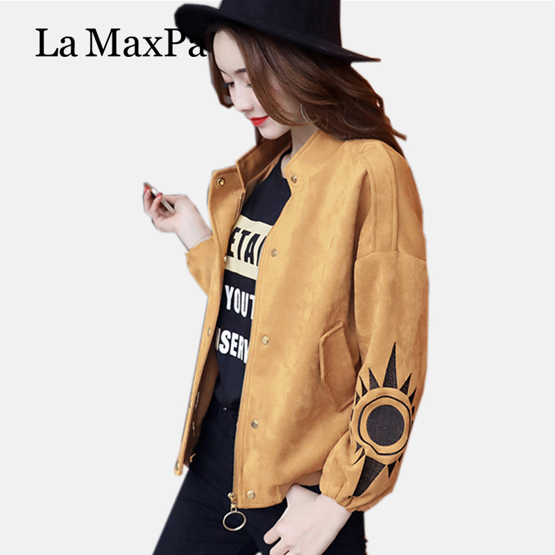 2017 Women Jacket Time-limited Full Casual Zipper Stand Regular Polyester Pockets Character No Appliques Zippers Coats Coat(China (Mainland))
