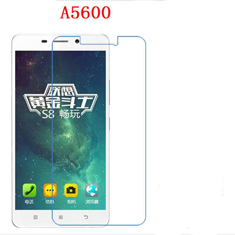 Explosion proof phone film Anti-Fingerprints touch preserving eyesight for Lenovo A5600 A5860 A5500 screen protector(China (Mainland))